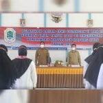 Wakil Bupati Kapuas Hulu Wahyudi Hidayat saat membuka Diklatsar CPNS Kapuas Hulu