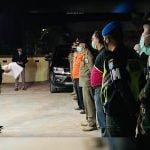 Wakil Bupati Kapuas Hulu Wahyudi Hidayat saat memimpin razia penerapan disiplin protokol kesehatan di wilayah Putussibau Utara dan Putussibau Selatan
