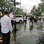 Wako Edi Kamtono Sebut Genangan Disebabkan Kombinasi Hujan dan Air Pasang Laut