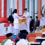 Bupati Ketapang Martin Rantan Pimpin Upacara HUT ke-76 Kemerdekaan RI