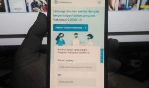 Cara Daftar Vaksinasi Covid-19 Secara Online Dengan Smartphone