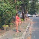 Dinar Candy Protes PPKM Hanya Dengan Bikini