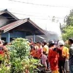 Dua Rumah di Hangus Dilalap Si Jago Merah di Pontianak