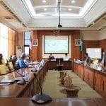 Gubernur Kalbar Pimpin Rakor Perkembangan Pembangunan Pelabuhan Kijing