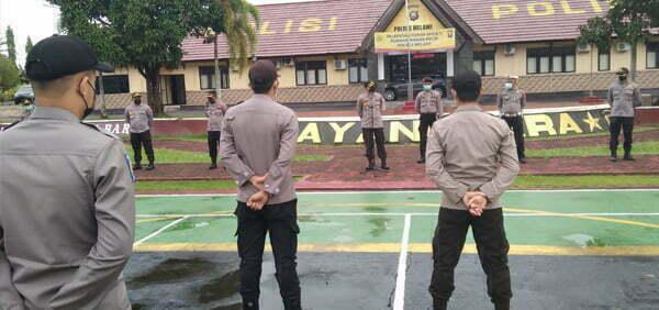 Kapolres Melawi Instruksikan Anggota Kibarkan Merah Putih di Rumah Masing-masing Sambut HUT ke-76 RI