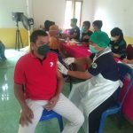 Kejar Target Cakupan, Pemkab Sekadau Gelar Vaksinasi di Sungai Sambang