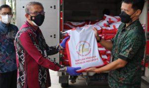 Pemprov Kalbar Terima Bantuan Beras dari Presiden Jokowi