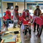 Polres Melawi Gelar Vaksinasi untuk Anak Berkebutuhan Khusus