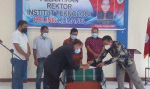 Rektor Institut Teknologi Keling Kumang Resmi Dilantik