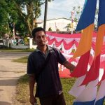 Pedagang Bendera Merah Putih Mulai Ramai di Ketapang Jelang HUT ke-76 RI