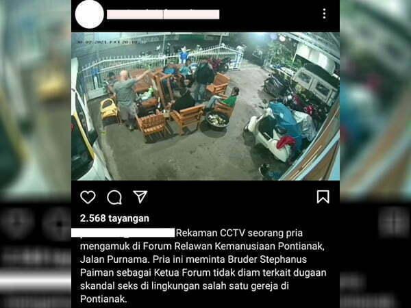 Viral Pria Mengamuk di FRKP, Bruder Diminta Bersuara Soal Dugaan Skandal Seks Oknum Pastor di Pontianak