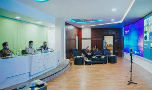 Wali Kota Pontianak Edi Rusdi Kamtono membuka kegiatan webinar Upaya Pemulihan Ekonomi Daerah di Kota Pontianak