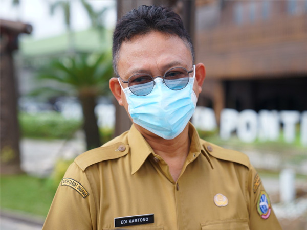 Pontianak Masih PPKM Level Tiga, Wako Edi Kamtono Imbau Warganya Tetap Taat Prokes