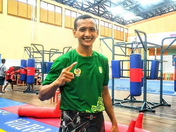Andri Atlet Wushu Kalbar Perkuat Latihan Kardio Jelang Pertandingan
