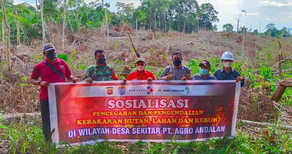Antisipasi Karhutla, TNI-Polri Gencar Sosialisasikan Pergub Kalbar 103