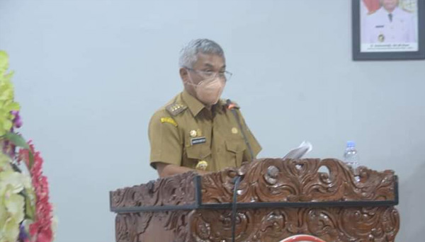 Bupati Martin Sampaikan Pidato Pengantar Raperda Perubahan APBD Ketapang