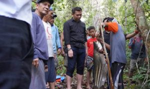 Bupati Sis Panen Raya Ikan Tapah Dengan Masyarakat