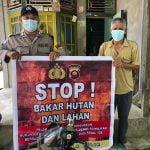 Cegah Karhutla, Polisi Imbau Warga Tak Buka Lahan Dengan Membakar