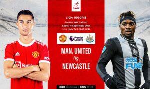 Cristiano Ronaldo Jadi Starter Dalam Laga Manchester United VS Newcastle