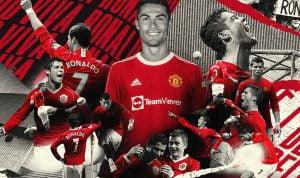 Cristiano Ronaldo Resmi Kembali Kenakan Nomor 7 di Manchester United