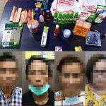 Double Date Anti Mainstream, Dua Pasang Kekasih di Ketapang Ditangkap Polisi Ketahuan Ngutil di Alfamart
