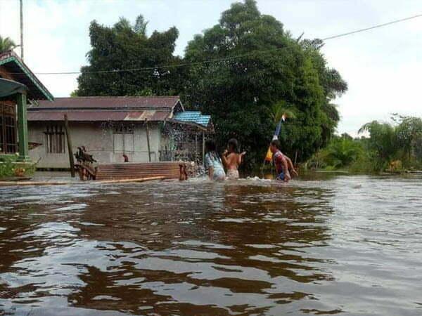 Empat Kecamatan di Ketapang Terendam Banjir