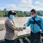 Gerakan Mobil Masker Sambangi Dermaga SDF Nanga Pinoh
