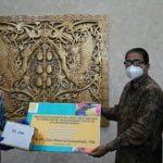 Gubernur Kalbar Apresiasi CMI Berikan Bantuan Obat Penanganan Covid-19