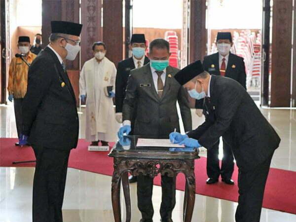 Gubernur Sutarmidji Tunjuk Samuel Jabat Pj Sekda Kalbar