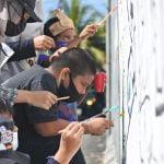 Tembokpedia Pontianak Sampaikan Pesan Moral Lewat Mural