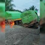 Perbaikan Jalan Sungai Jawi Tinggal Action