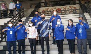 AHY Kunjungi Fraksi Demokrat DPRD Kalbar