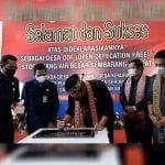 Lima Desa di Badau Deklarasikan Stop BAB Sembarangan