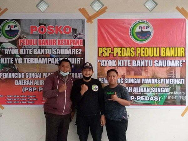PSP PEDAS Galang Dana Bantu Korban Banjir di Ketapang