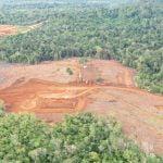 PT Laman Mining Dihukum Adat