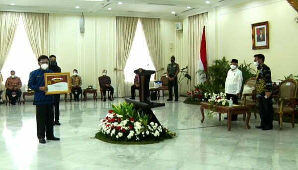 Provinsi Dengan Nilai Ekspor Pertanian Tertinggi, Kalbar Dapat Penghargaan dari Wapres