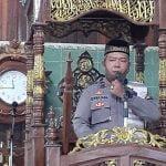 Safari Jumat Polres Ketapang, KaSPKT IPTU Sri Marjana Ajak Jamaah Masjid Imam Bonjol Jaga Kamtibmas