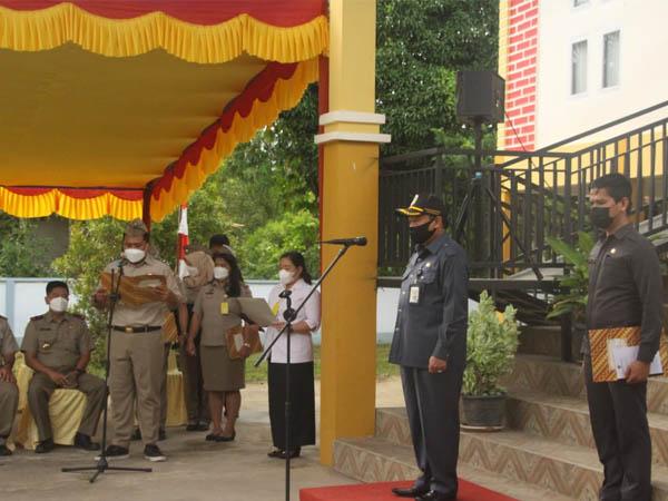 Sekda Kapuas Hulu Mohd Zaini Pimpin Upacara Hari Agraria dan Tata Ruang