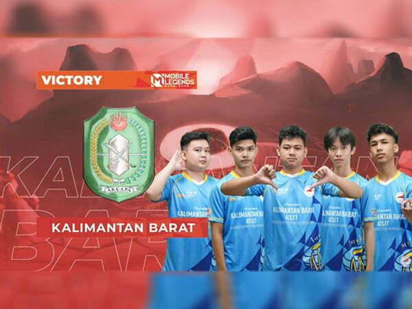 Tim Mobile Legends Kalbar Raih Emas Usai Kandaskan Jawa Tengah 2-1