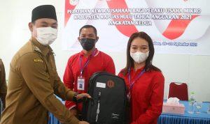 Wabup Wahyudi Harap Pelaku UMKM Mampu Berinovasi dan Kreatif Hadapi Tantangan Pandemi