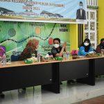 Wakil Wali Kota Pontianak Bahasan membuka kegiatan Sosialisasi Kadarkum di Aula Kantor Camat Pontianak Tenggara