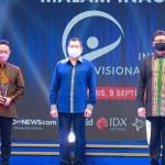 Wako Edi Kamtono Raih Penghargaan Indonesia Visionary Leader