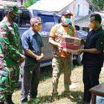 BPBD Kapuas Hulu Salurkan Bantuan Sembako untuk Korban Kebakaran di Buak Limbang