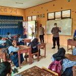 Cegah Kluster Sekolah, Polres Melawi Terus Disiplinkan Prokes Pelajar