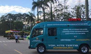 Disdukcapil Pontianak Sediakan Mobil Keliling Pelayanan Jemput Bola