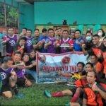 KOMPAS Mahap Gelar Laga Persahabatan Meriahkan HUT ke-76 TNI
