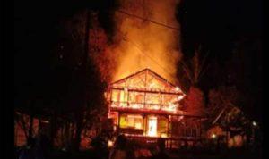Kebakaran Rumah, Seorang Penghuni Rumah di Kapuas Hulu Tewas Terpanggang