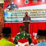 Kerjasama Pemkab Kapuas Hulu dan TNI Sangat Baik