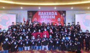 Lasarus Minta Repdem Bantu PDI Perjuangan Menang 'Hattrick' Pemilu di 2024