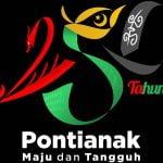 Logo 250 Tahun Pontianak, Representasi Keberagaman dan Harmonisasi